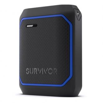 Griffin Survivor Rugged Power Bank 10050mAh - Black-Blue