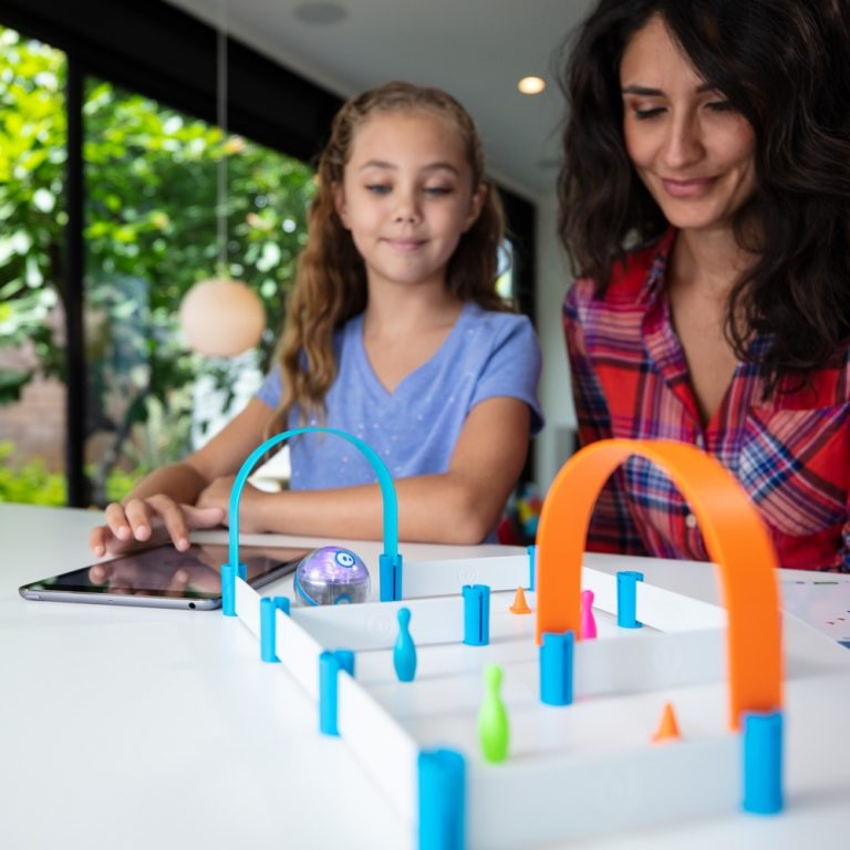 Sphero Mini Activity kit with girl and woman