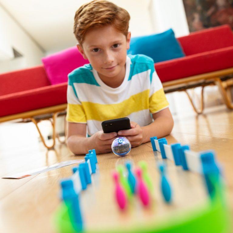 Sphero Mini Activity kit with boy