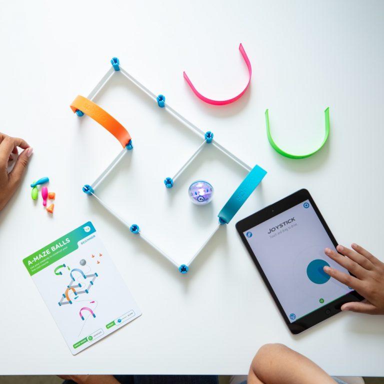 Sphero Mini Activity kit in use