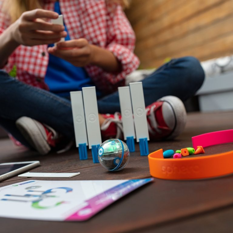 Sphero Mini Activity kit on table