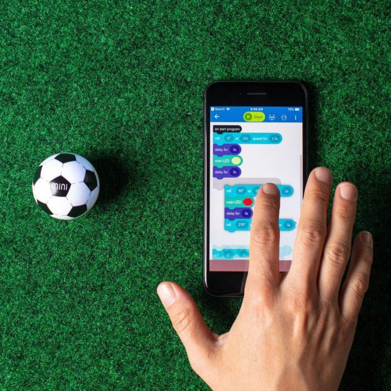 Sphero Mini Soccer hand