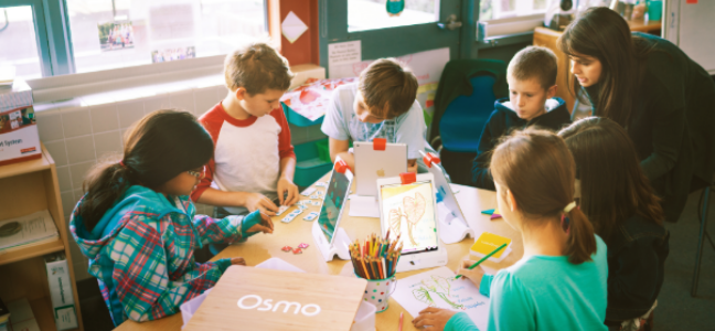 OSMO educational game for iPad