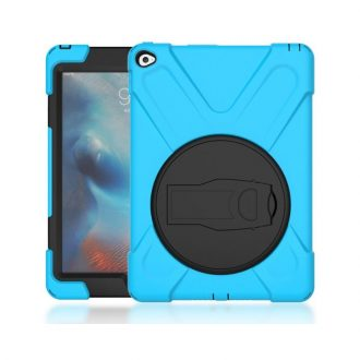 shockdrop rugged case stand for iPad 10.2 in blue