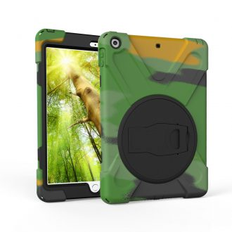 shockdrop rugged case stand for iPad 10.2 in camouflage