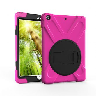 shockdrop rugged case stand for iPad 10.2 in pink