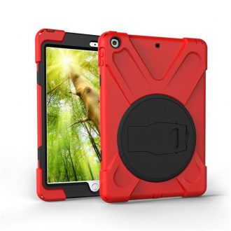 shockdrop rugged case stand for iPad 10.2 in red