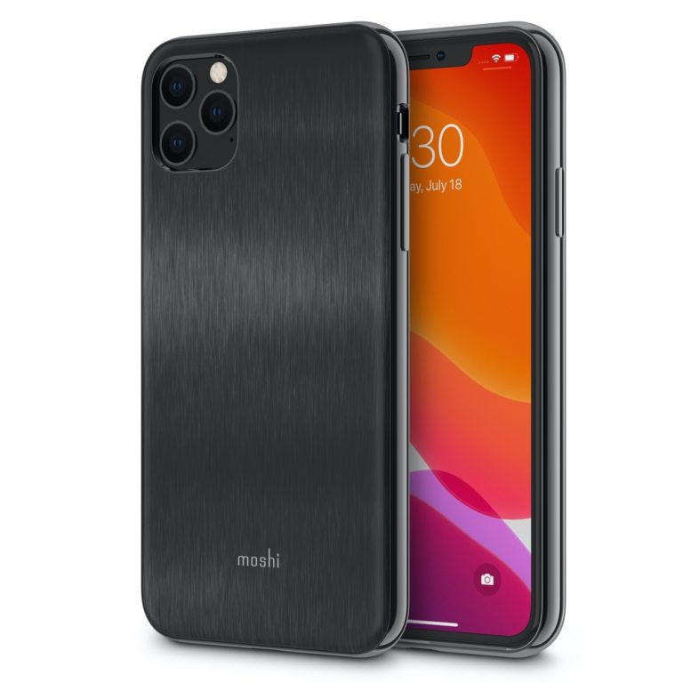 Moshi iGlaze for iPhone 11 Pro Max (SnapTo) - Black