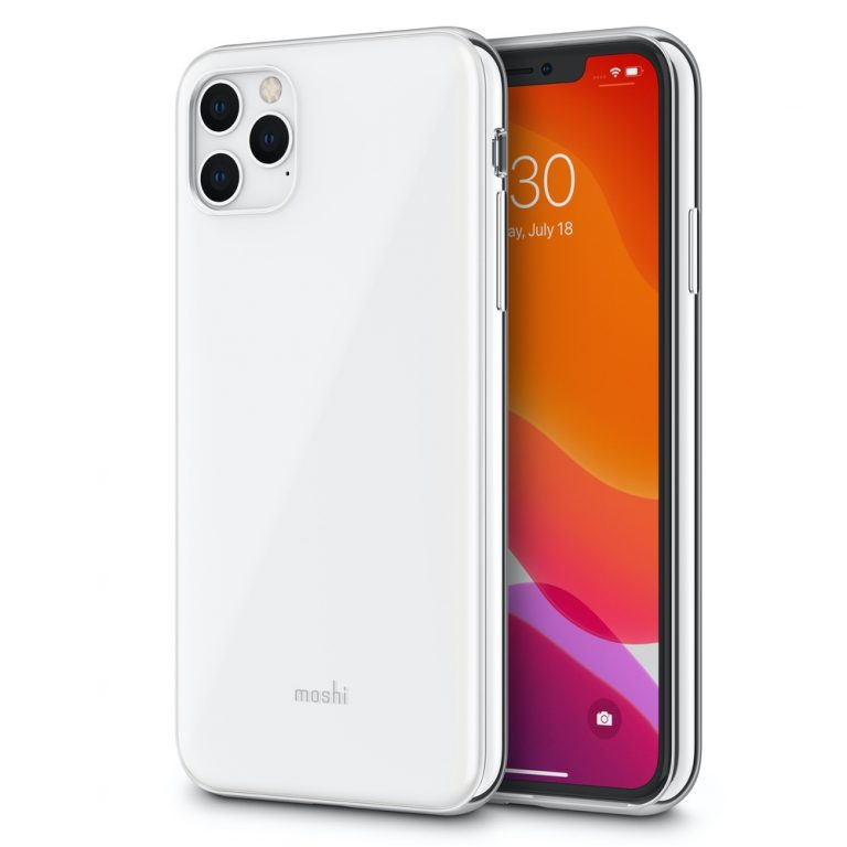 Moshi iGlaze for iPhone 11 Pro Max (SnapTo) - White