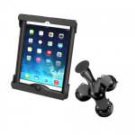 """RAM Tab-Tite Universal Cradle for 10"""" Tablets with Triple Suction Mount"""