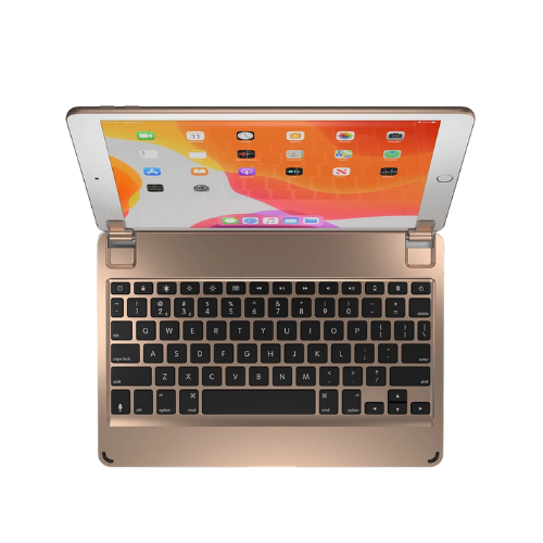 Brydge Keyboard Case for iPad 10.2 gold