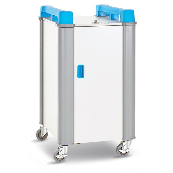 LapCabby 10 Vertical 10-Device Charging Trolley