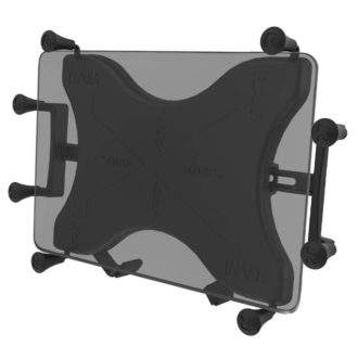 """RAM® X-Grip® Universal Holder for 9""""-10"""" Tablets front"""