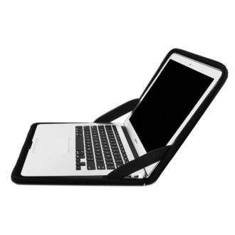 "Rugged Work-in Laptop Hard Case for 13"" Devices open"
