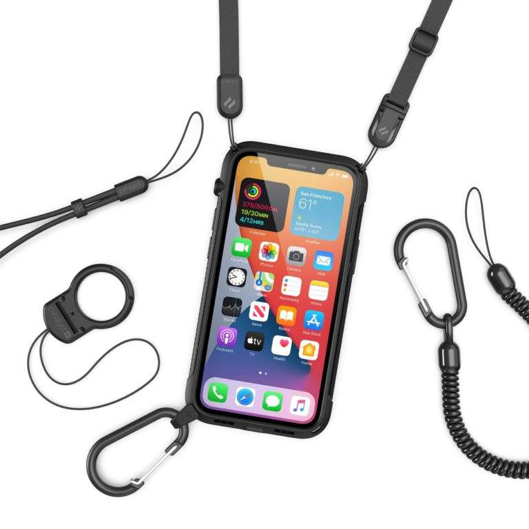 Catalyst Vibe Impact Case for iPhone 12 Mini lanyard