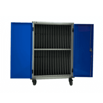 Gilkon LCMT-30 - 30 Bay PC Vault Trolley