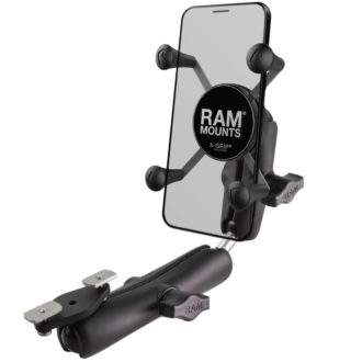 RAM® X-Grip® Phone Mount for Wheelchair Armrests