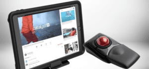 How to use a bluetooth trackball wireless mouse with iPad