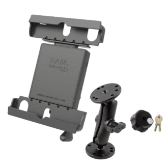 RAM Mounts locking cradle and wall mount
