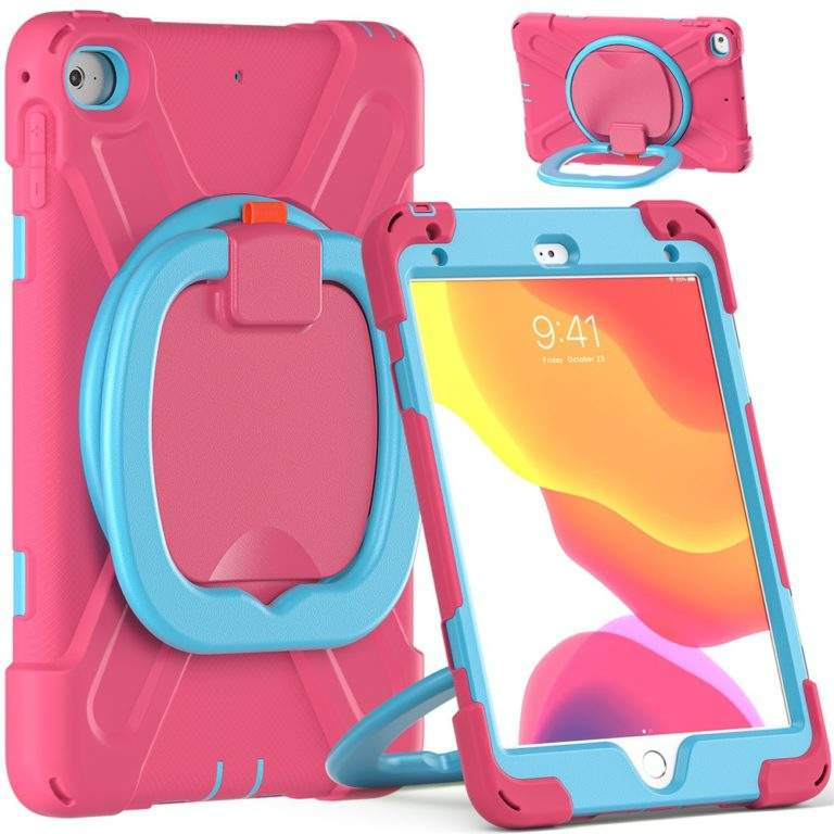 StylePro Shockproof Rugged Case with Ring Stand for iPad 10.2 stand