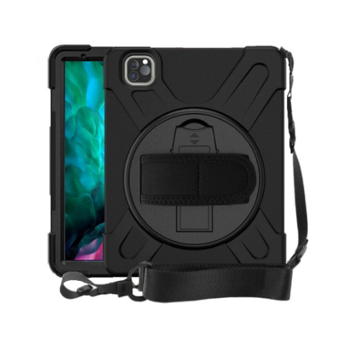 Strike Rugged Case with Hand Strap and Lanyard for Apple iPad Pro 11