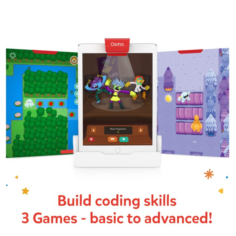 Osmo Coding Starter Kit for iPad for Ages 5-12 screens