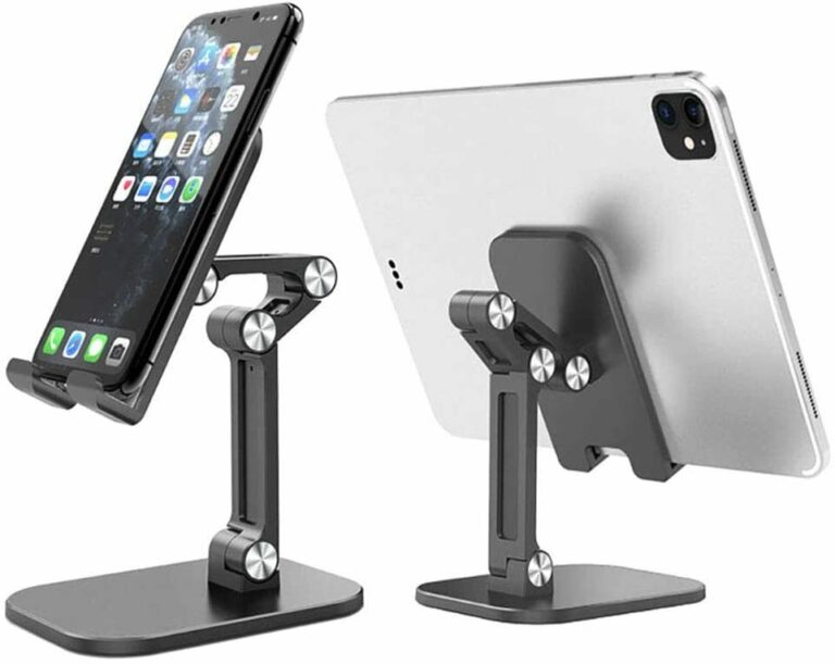 StylePro Adjustable Phone and Tablet Stand pair