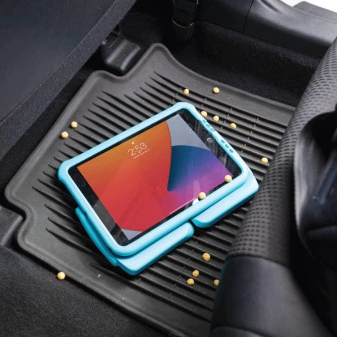 Gear4 D3O Orlando Kids Tablet Case For iPad 10.2 blue car