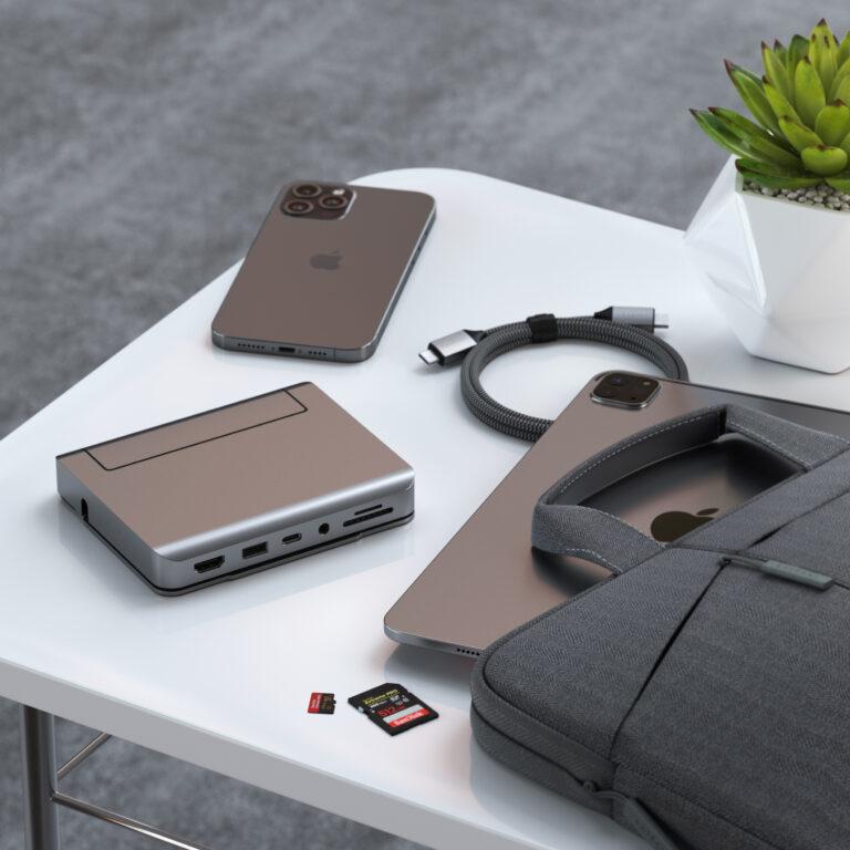 Satechi Aluminium Stand Hub portable