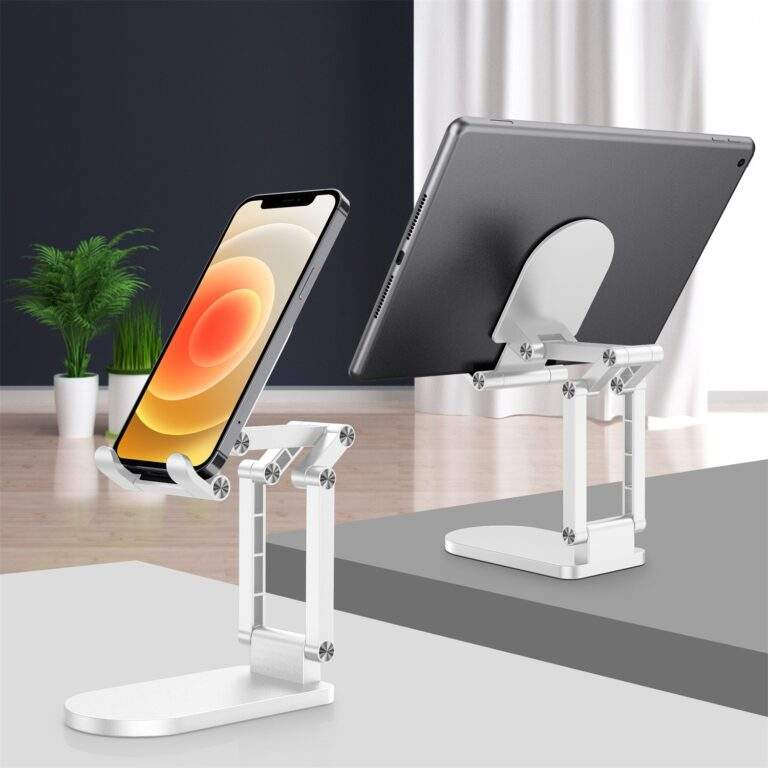 StylePro Adjustable Phone and Tablet Stand - White