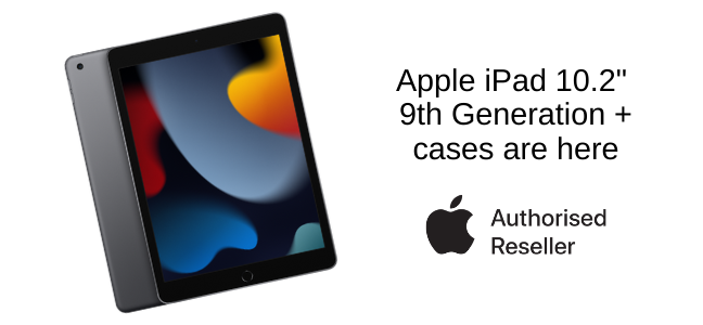 iPad 10.2 9th Gen and cases are here